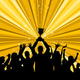 Celebrate Win Represents First Place And Winner Royalty Free Stock Photography