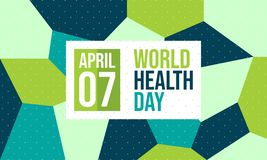 Celebrate World Health Day - Vector royalty free illustration