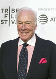 Celebrated  Actor Christopher Plummer at the 2017 Tribeca Film Premiere of `The Exception` Royalty Free Stock Photos