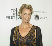 Celebrated British Actress Janet McTeer at the 2017 Tribeca Film Premiere of `The Exception` Stock Photo