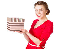 Celebrates birthday Stock Images