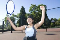 celebrates player tennis Στοκ Φωτογραφία