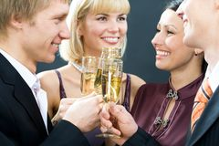 Celebrating Royalty Free Stock Photo