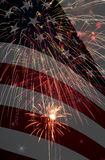 Celebrating America Composite Stock Images
