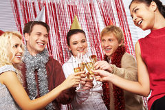Celebrating anniversary Royalty Free Stock Images
