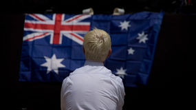 Celebrating Australia Day Stock Images