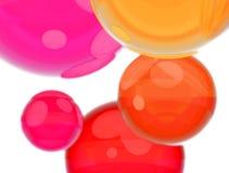 Celebrating ballons Stock Photography