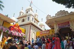 Celebrating the Bengali New Year stock image