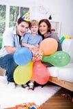Celebrating  birthday Royalty Free Stock Photo