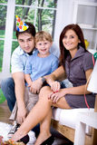 Celebrating  birthday Royalty Free Stock Image