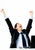 Celebrating business Royalty Free Stock Images