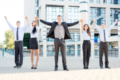 Celebrating Business Success Stock Photography