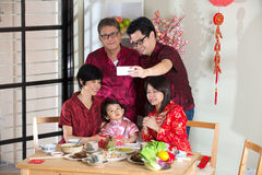Celebrating Chinese New Year Stock Image