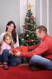 celebrating christmas στοκ εικόνες με δικαίωμα ελεύθερης χρήσης