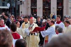 Celebrating Easter, Budapest, Hungary Stock Image