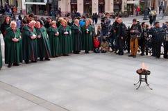Celebrating Easter, Budapest, Hungary Royalty Free Stock Images