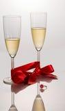 Celebrating engagement Royalty Free Stock Images
