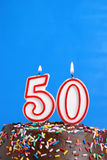 Celebrating Fifty Years Stock Photography