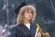 Celebrating graduates of UCLA's Royalty Free Stock Photography