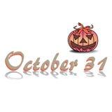 Celebrating Halloween Stock Photo