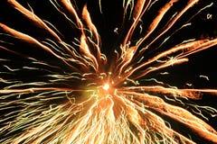 Celebrating happy new year Stock Photos
