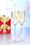 Celebrating holidays Stock Image