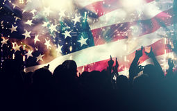 Celebrating Independence Day in US Stock Photography