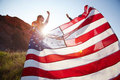Celebrating Independence in Nature Royalty Free Stock Images