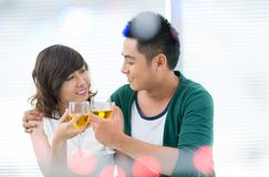 Celebrating love Royalty Free Stock Photos