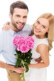 Celebrating love. Stock Images