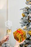 Celebrating a New Year Stock Photo