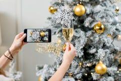Celebrating a New Year Stock Photos