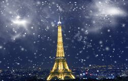 Free Celebrating New Year`s In Paris Royalty Free Stock Photography - 101330037