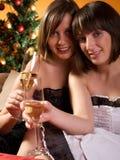 Celebrating New Year Royalty Free Stock Photo