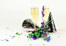 Celebrating New Years Royalty Free Stock Photos
