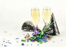 Celebrating New Years Stock Photo