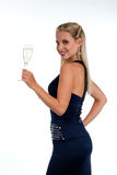 Celebrating new Years'Eve or Birthday Stock Photography
