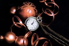Celebrating New Years (tinted) Stock Photos