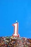 Celebrating One Year Stock Images