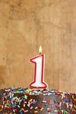 Celebrating One Year Stock Image