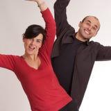 Celebrating partners Royalty Free Stock Photo