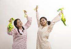 Celebrating raya Stock Photography