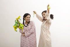 Celebrating raya Royalty Free Stock Photo