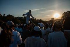 Celebrating Rosh Hashanah in Uman Royalty Free Stock Image