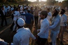 Celebrating Rosh Hashanah in Uman Royalty Free Stock Photography