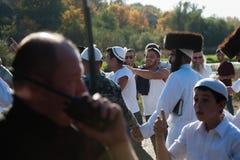 Celebrating Rosh Hashanah in Uman Royalty Free Stock Photos