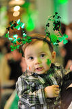 Celebrating saint patrick's day Stock Images