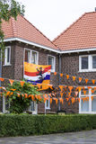 Celebrating soccer championship in the Netherlands Royalty Free Stock Photography