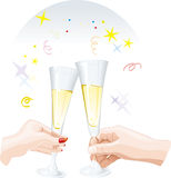Celebrating special day.Vector Royalty Free Stock Photos