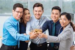 Celebrating success Royalty Free Stock Image